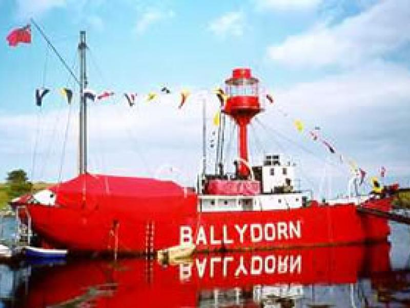 BALLYDORN - starboard side amidships. Ref:L: assoc docs