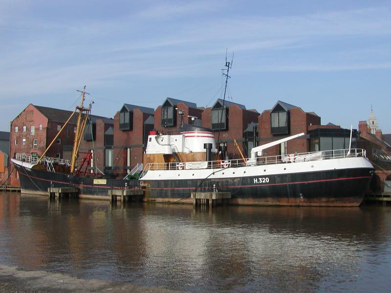 Arctic Corair moored in Hull