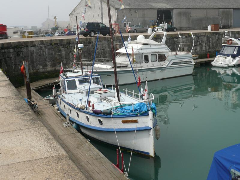 Lamouette in Ramsgate harbour