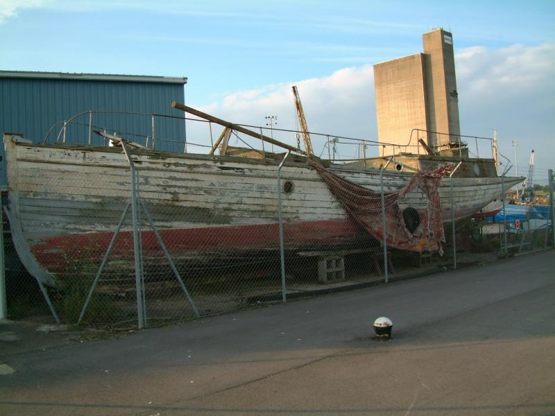 Thordis out the water - port side view