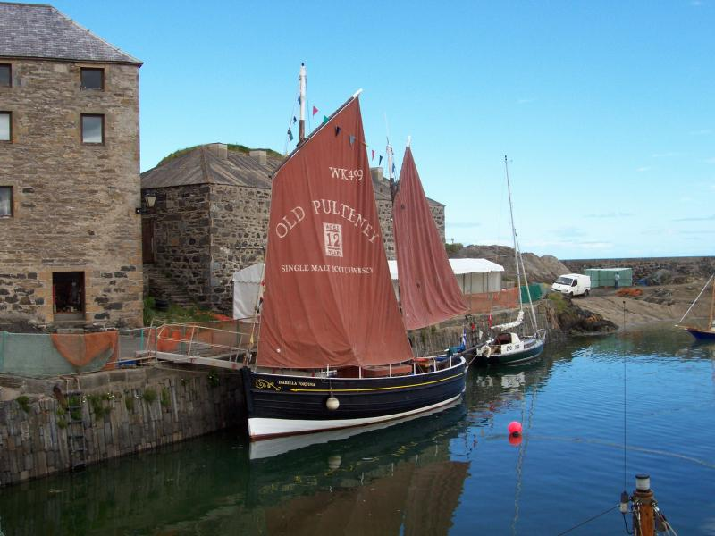 Isabella Fortuna - in Portsoy, port side image