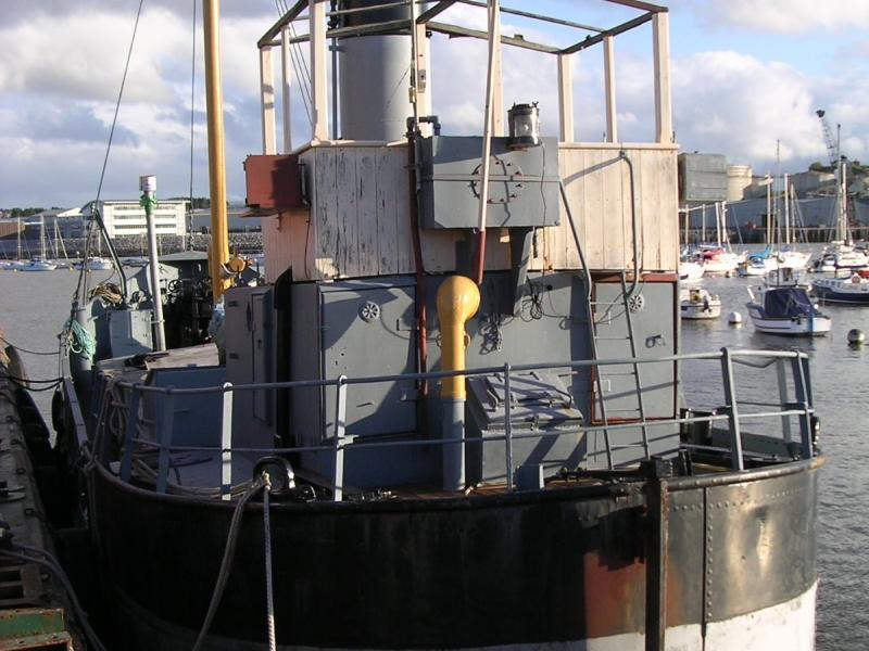 Advance (VIC 24)  - stern view