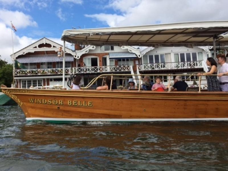 Windsor Belle Bow Starboard side