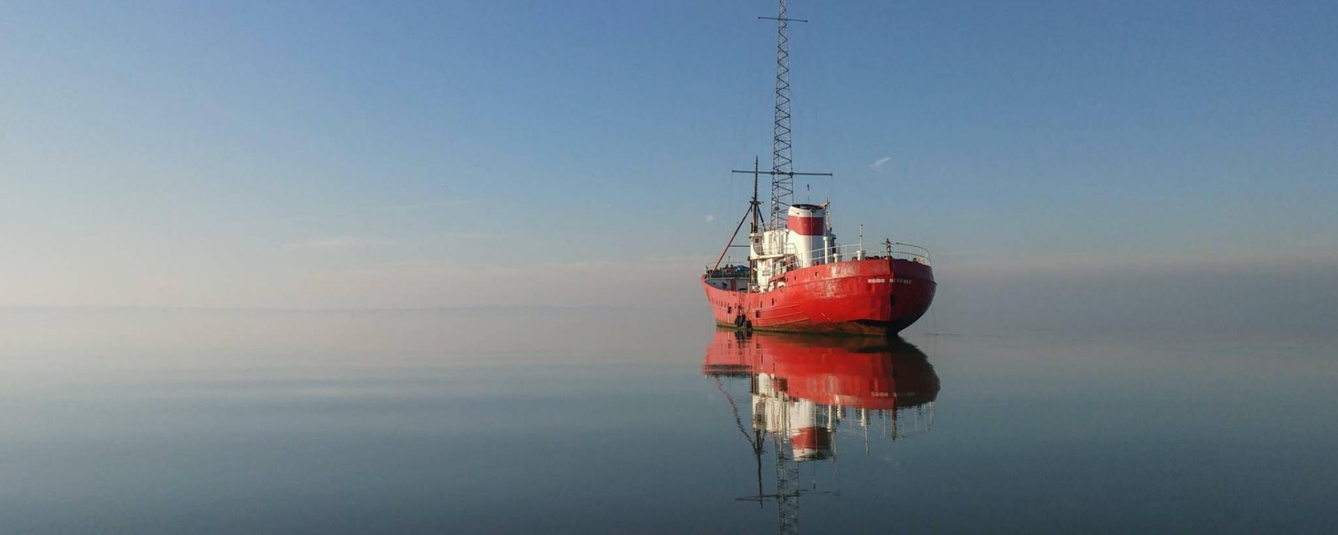 MV Ross Revenge the home of Radio Caroline 1