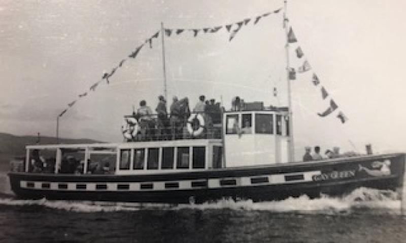 Dorset Queen - underway