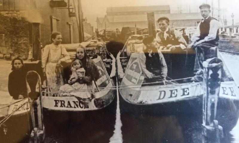 Don - when she was the horseboat Dee before conversion