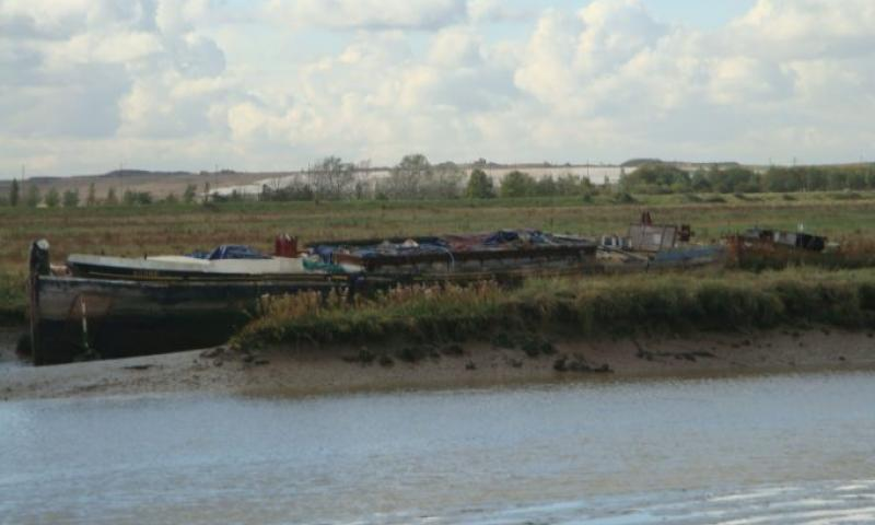 Scone - moored