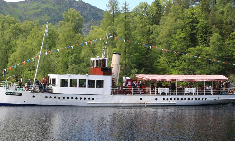 Photo Comp 2018 entry: In Highland Waters - the SS Sir Walter Scott on Loch Katrine in Scotland, by Colin Smith
