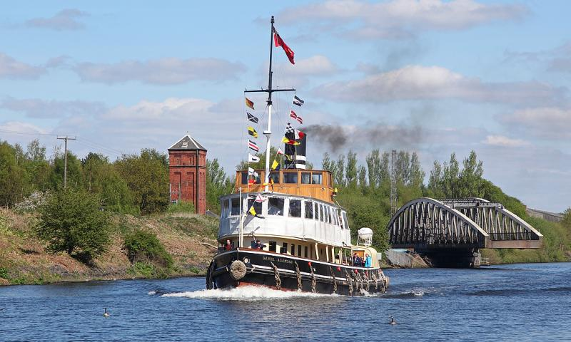 Photo Comp 2018 entry - Daniel Adamson on the Manchester ship canal 23rd April 2017, by John Eyres
