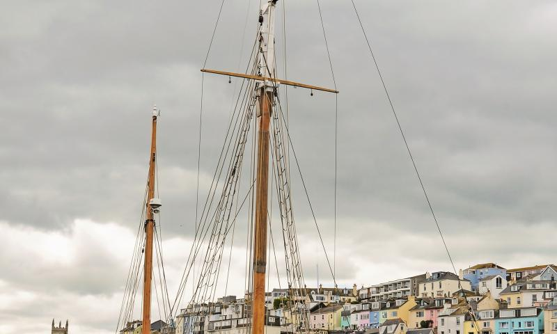 Photo Comp 2018 entry - Pilgrim in Brixham Harbour, by Steve McMillan