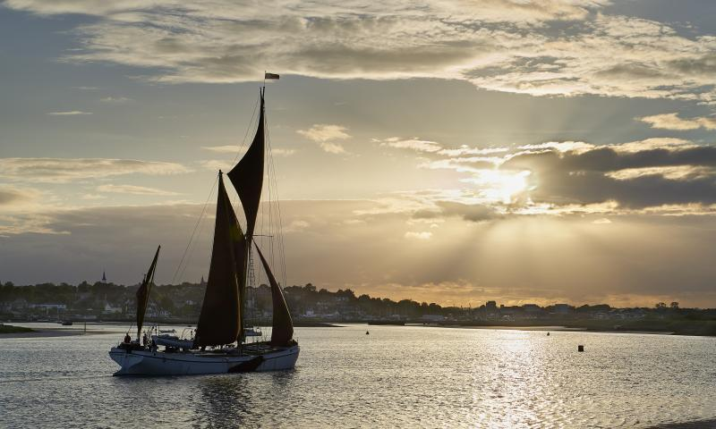 Photo Comp 2018 entry - Reminder sails into the sunset, by Sandy Miller