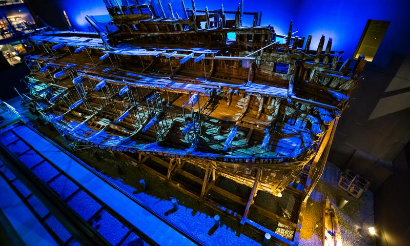Mary Rose from the Upper Deck