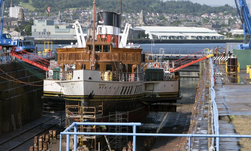 Photo Comp 2018 entry - PS Waverley in dry dock, by Paul Russell