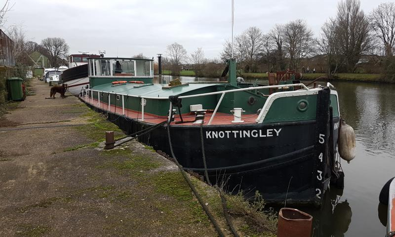 Knottingley - moored