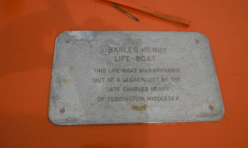 Charles Henry - legacy plaque