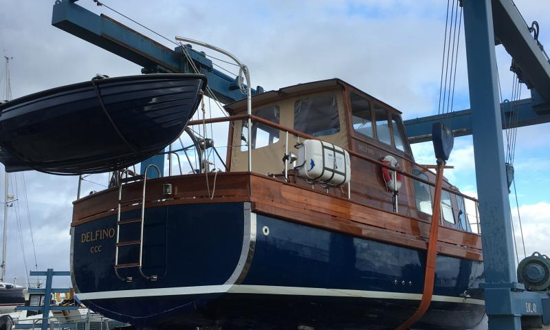 Delfino 2019 in boatyard
