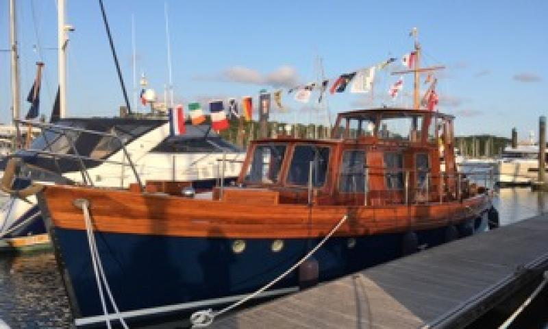 Delfino 2019 at mooring