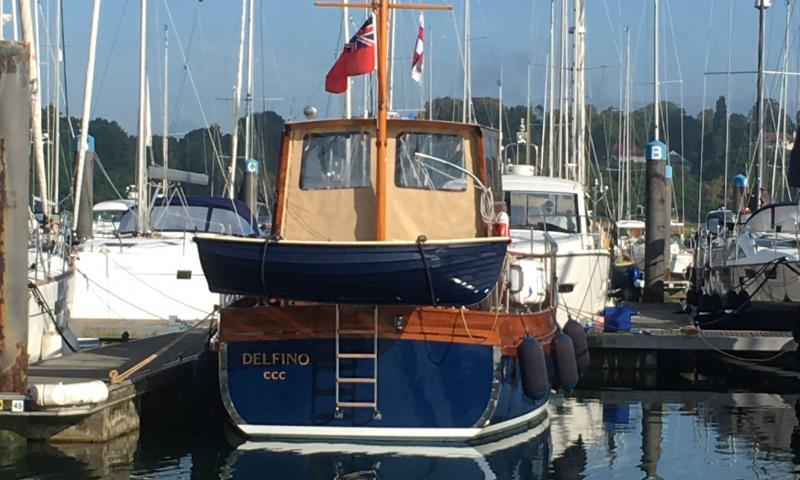 Delfino 2019 in port