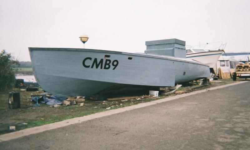 CMB 9 Starboard view