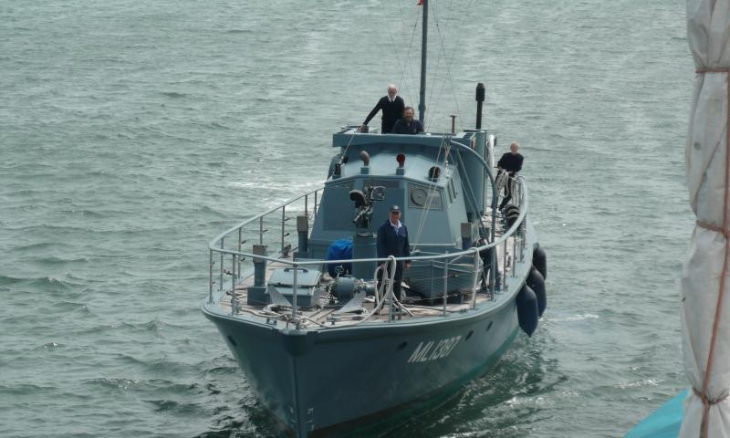 HMS MEDUSA - Shieldhall/Medusa training day, on way to Shieldhall