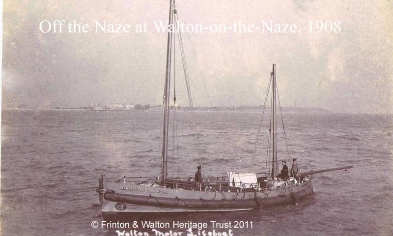 Off the Naze at Walton-on-the-Naze 1908