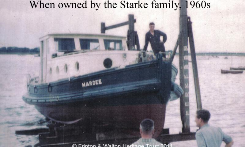 When owned by the Starke family 1906