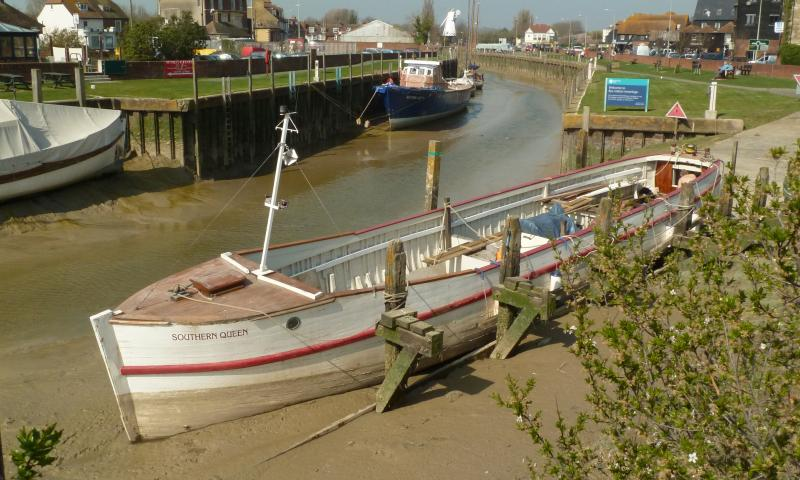 Southern Queen - in Rye, undergoing restorating before Diamond Jubilee