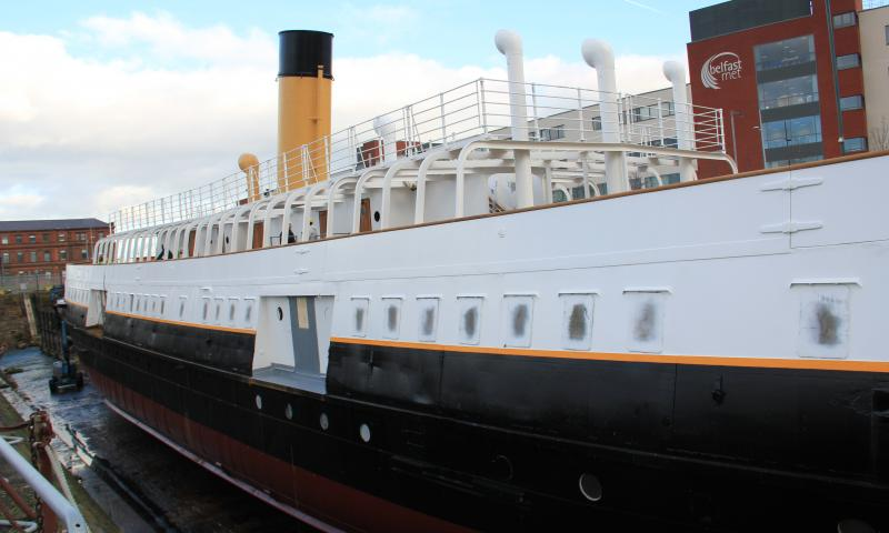 SS Nomadic - port side view