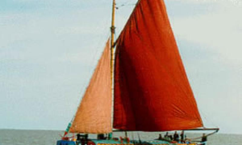 The Amy Howson under sail. Ref: Assoc Docs 21/amyhowson.gif