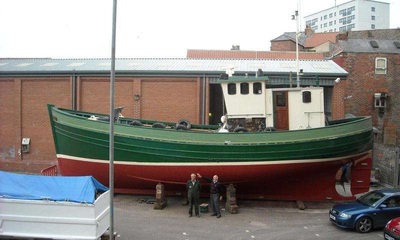 Challenge after she was dry docked