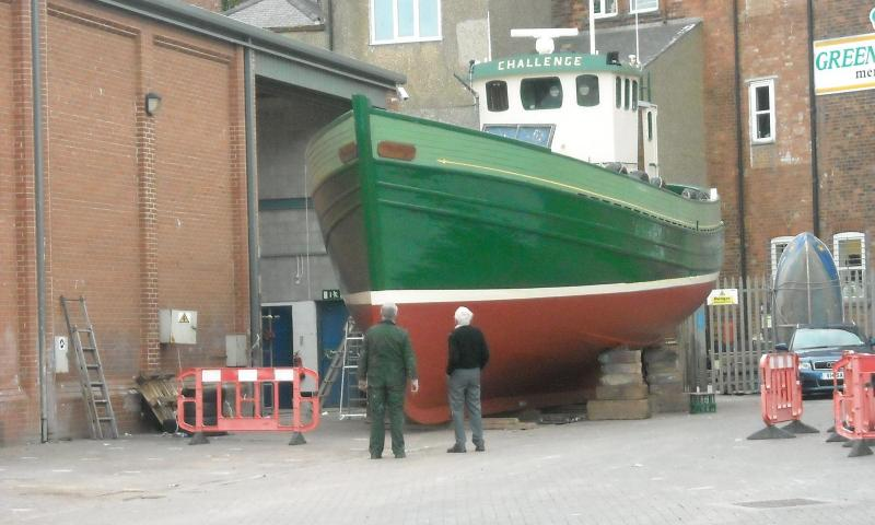 Challenge after dry docking