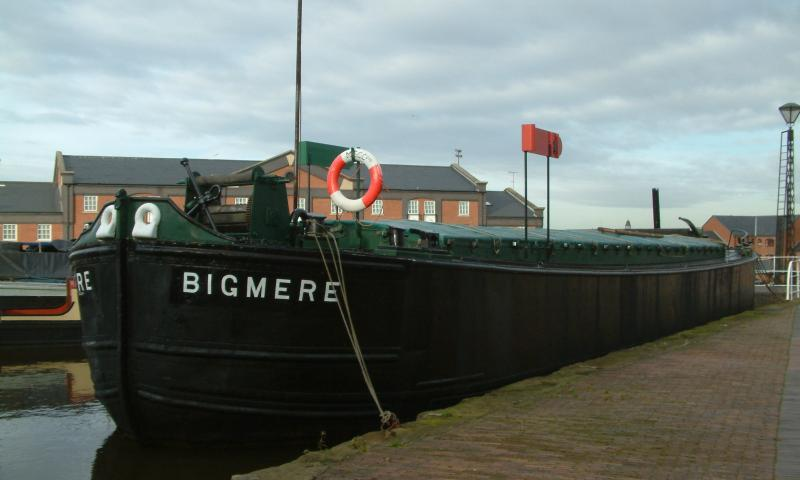 Bigmere, moored alongside at Ellesmere Port.
