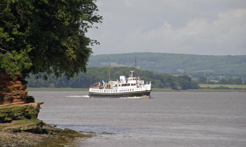 MV Balmoral Passing Beechley