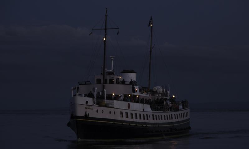 Photo Comp 2012 entry: Balmoral - dusk arrival
