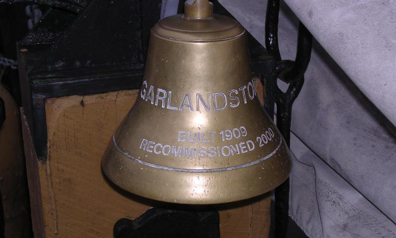 Garlandstone - ship's bell