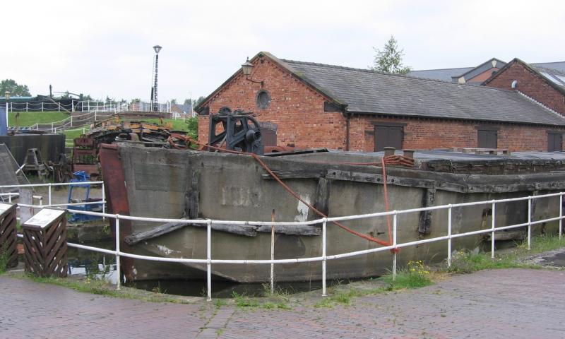 FCB 18 in dock at Ellesmere Port