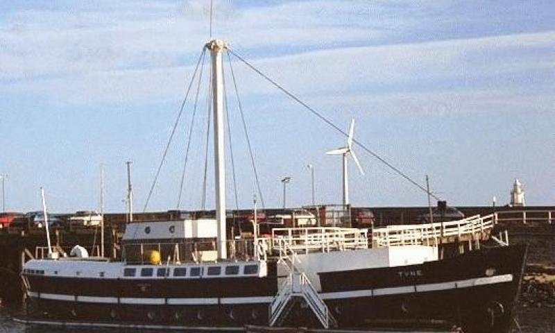 H.Y. Tyne III in her days as LV 50 - starboard side