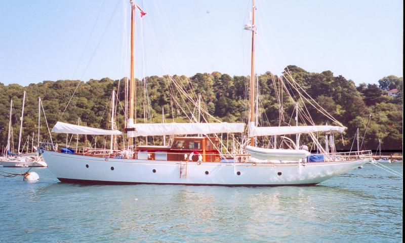 Valdora - port side view