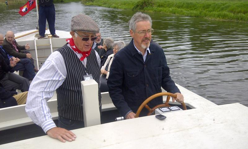 John Constable - launch, Griff Rhys Jones