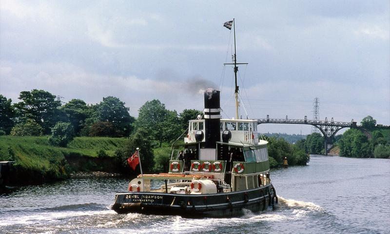 On the Manchester Ship Canal 1981