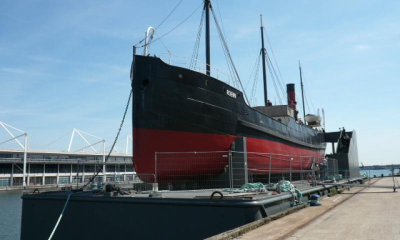 SS Robin - at Royal Victoria Dock, Open Doors event Jun 13