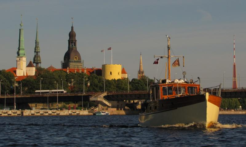 Photo Comp 2012 entry: Ruda - against Riga's spires