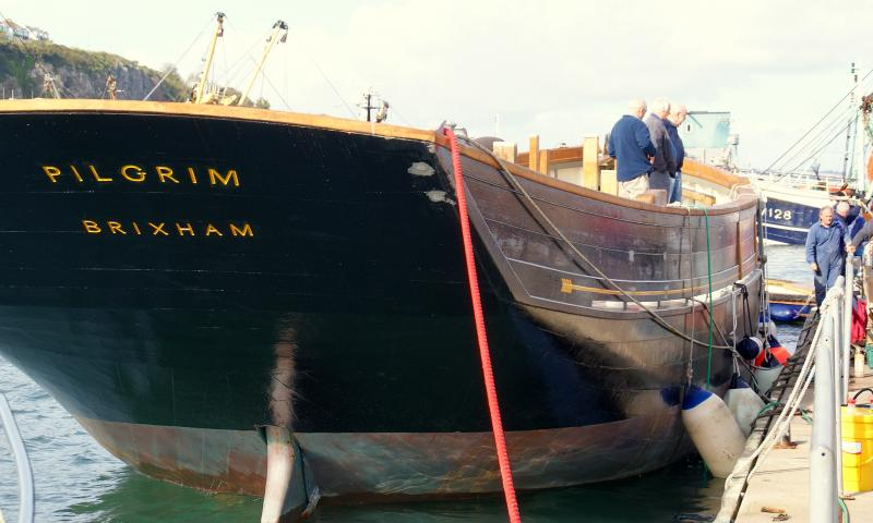 Pilgrim - stern, at mooring