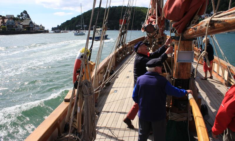 Sailing at Dartmouth 2013