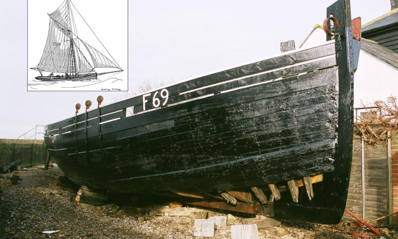 Favourite - finished hull, inset 1800