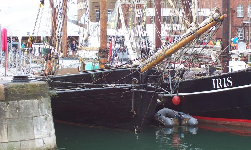 Bessie Ellen at the Festival of the Sea, Portsmouth