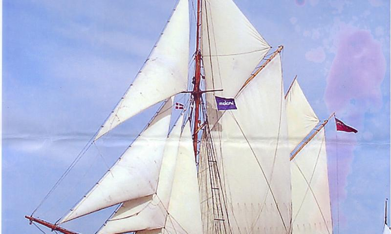 Bessie Ellen under sail