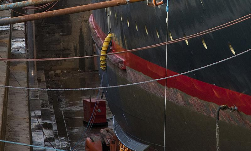 Photo Comp 2012 entry: RY Britannia - in dry dock 4