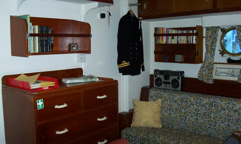 Royal Yacht Britannia - accommodation