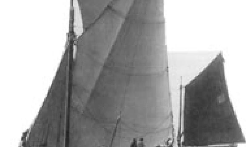 Centaur - under new set of sails